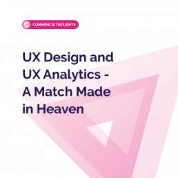 UX design and UX analytics