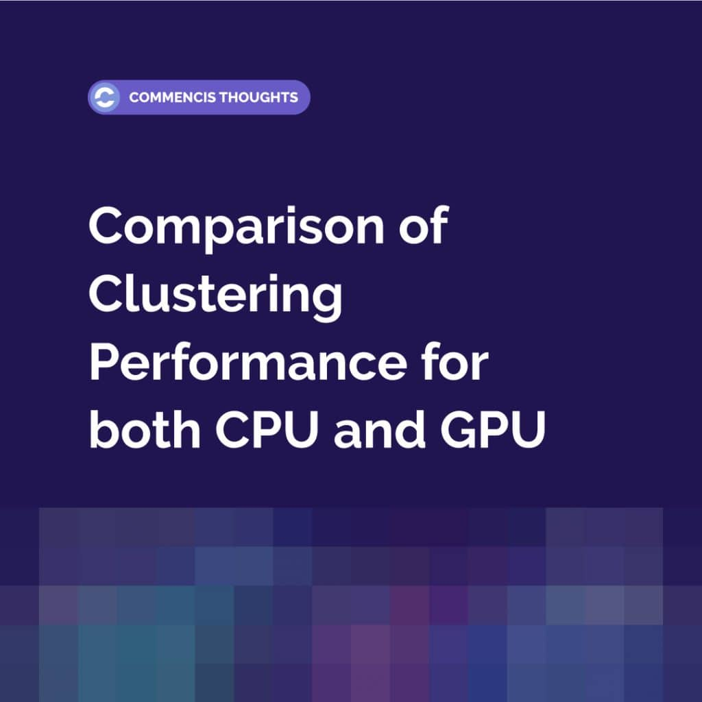 Comparison of Clustering Performance for both CPU and GPU