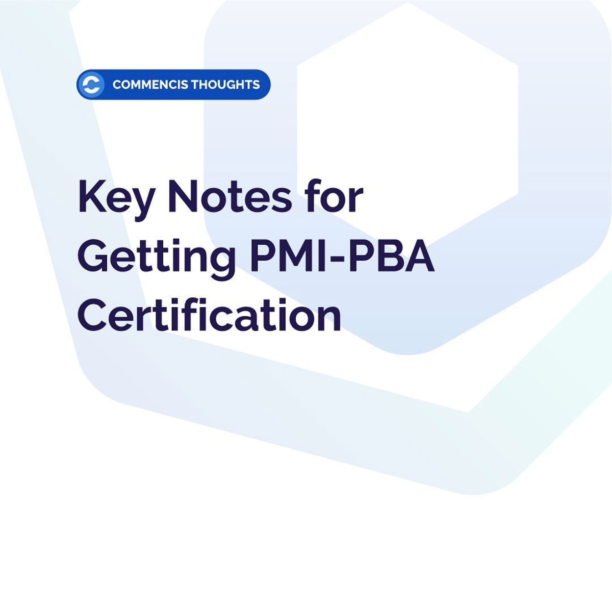 pmi-pba certifiation