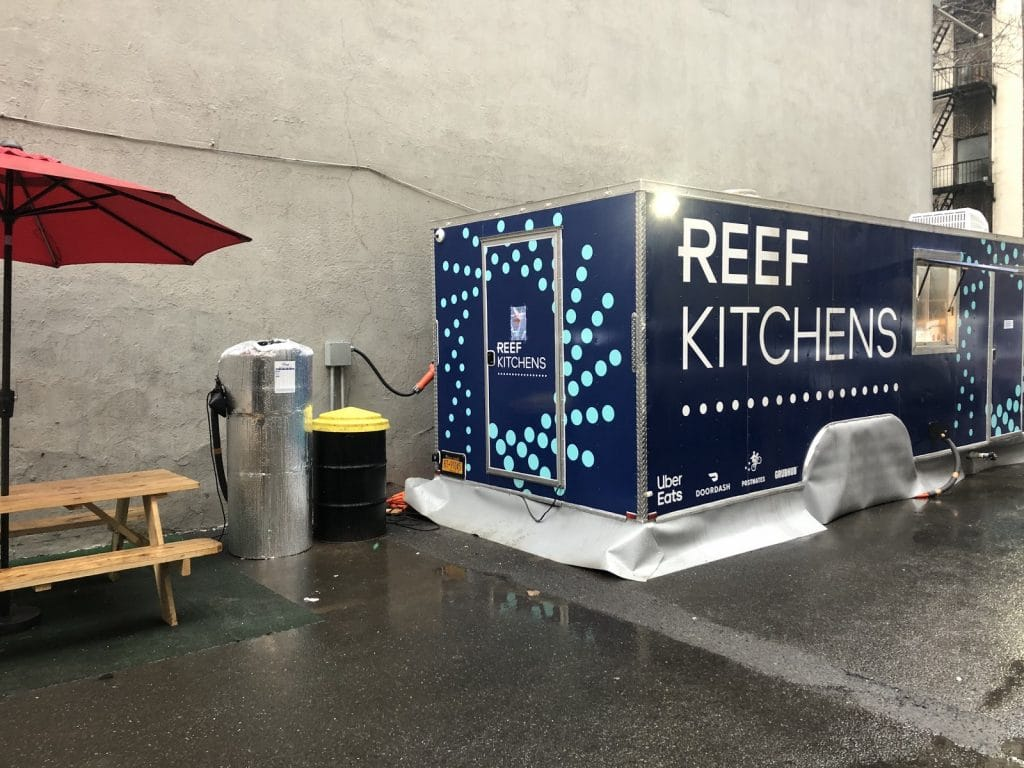 Softbank-backed Reef Technology's ghost kitchens