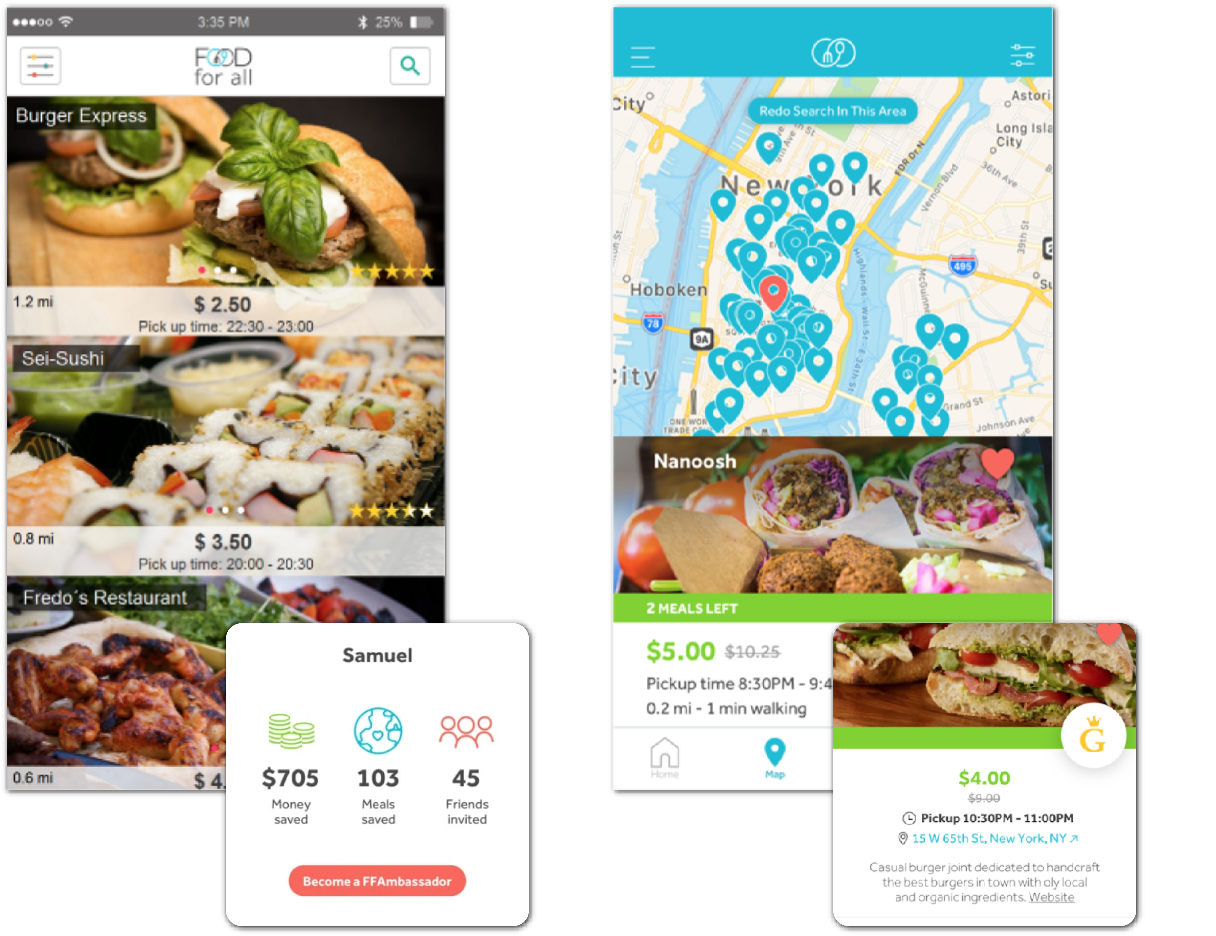 food for all mobile app